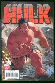 Hulk #1 Red Variant 1:20 Retail Incentive Variant